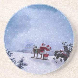 Dessous De Verre En Grès Cadeaux de Noël