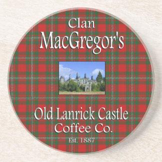Dessous De Verre En Grès Café Cie. de château de Lanrick de MacGregor de