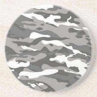Dessous De Verre En Grès Camo gris