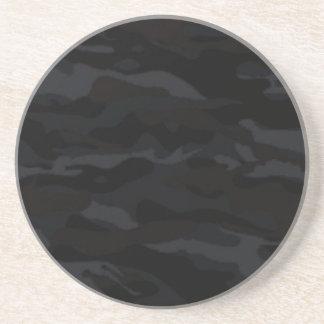 Dessous De Verre En Grès Camo noir