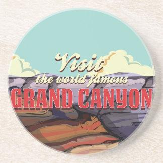 Dessous De Verre En Grès Canyon grand