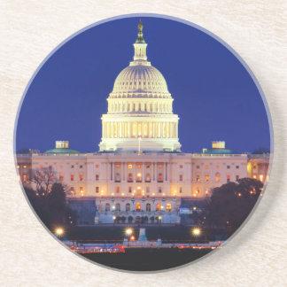 Dessous De Verre En Grès Capitol des Etats-Unis de Washington DC au