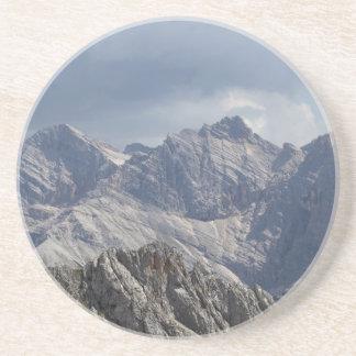 Dessous De Verre En Grès Chaîne de Karwendel dans les Alpes bavarois