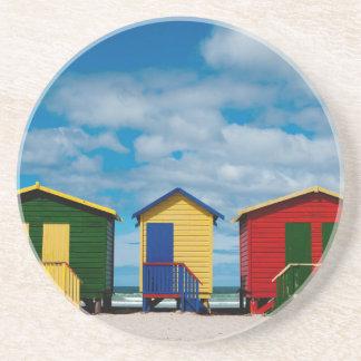 Dessous De Verre En Grès Changez les salles. Plage de Muizenberg, Cape Town