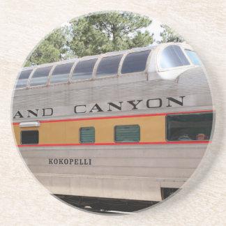 Dessous De Verre En Grès Chariot ferroviaire de canyon grand, Arizona
