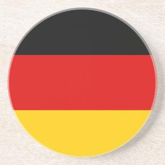 Dessous De Verre En Grès Coût bas ! Drapeau allemand
