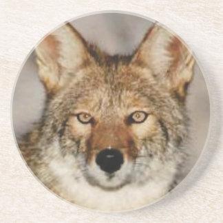 Dessous De Verre En Grès de coyote fin