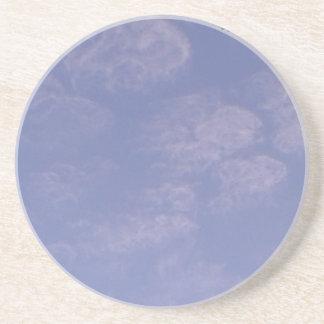 Dessous De Verre En Grès De nuages étranges 1