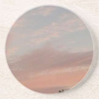 Dessous De Verre En Grès De nuages étranges 2