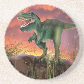 Dessous De Verre En Grès Dinosaure de T-Rex