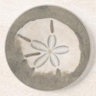 Dessous De Verre En Grès Dollar de sable (Echinarachnius Parme)