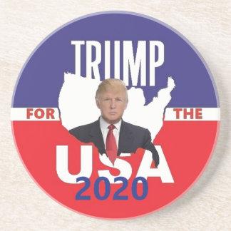 Dessous De Verre En Grès Donald Trump 2020