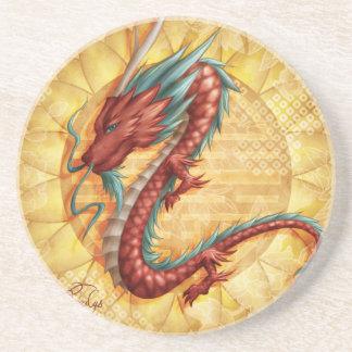 Dessous De Verre En Grès Dragon