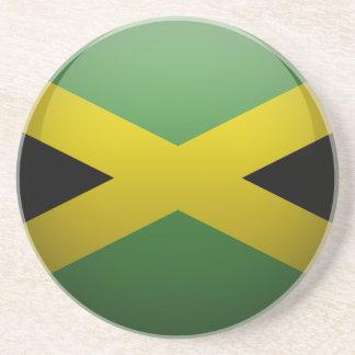 Dessous De Verre En Grès Drapeau de la Jamaïque