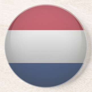 Dessous De Verre En Grès Drapeau des Pays-Bas