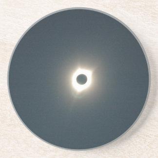 Dessous De Verre En Grès Éclipse 2017 - Stupéfier de totalité - image