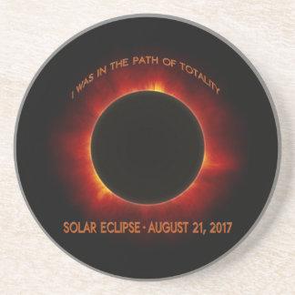 Dessous De Verre En Grès Éclipse solaire