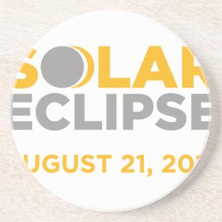 Dessous De Verre En Grès Éclipse solaire le 21 août 2017