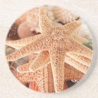 Dessous De Verre En Grès Étoiles de mer sèches vendues sous le nom de