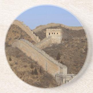 Dessous De Verre En Grès Grande Muraille de la Chine