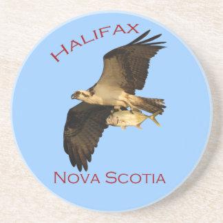 Dessous De Verre En Grès Halifax, la Nouvelle-Écosse