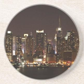 Dessous De Verre En Grès Horizon de New York City