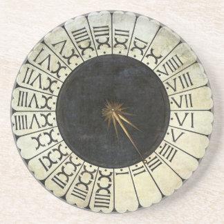 Dessous De Verre En Grès Horloge dans le Duomo par Paolo Uccello