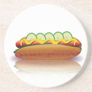 Dessous De Verre En Grès hot-dog