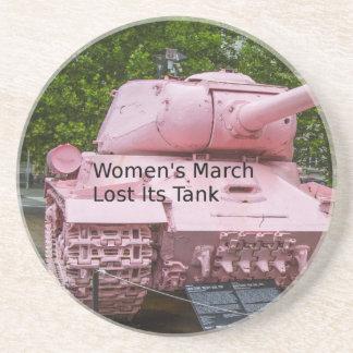 Dessous De Verre En Grès Humour de la politique : Mars des femmes a perdu