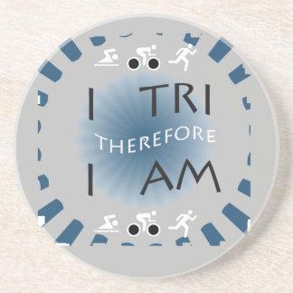 Dessous De Verre En Grès I tri par conséquent je suis triathlon