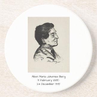 Dessous De Verre En Grès Iceberg d'Alban Maria Johannes