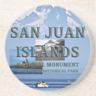 Dessous De Verre En Grès Îles d'ABH San Juan