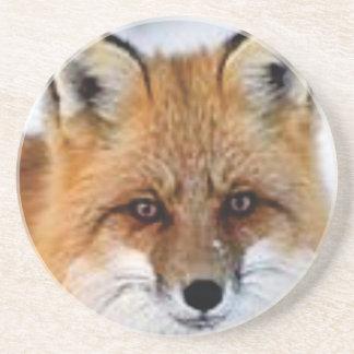 Dessous De Verre En Grès image de fantaisie de renard
