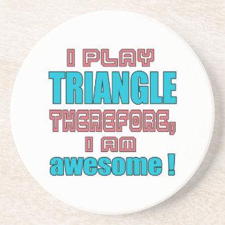 Dessous De Verre En Grès Je joue la triangle donc, je suis impressionnant !