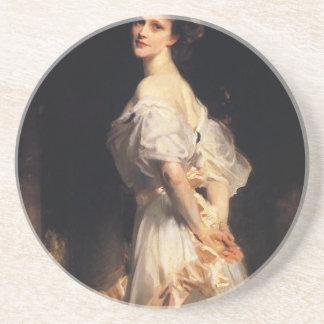 Dessous De Verre En Grès John Singer Sargent - Nancy Astor - beaux-arts