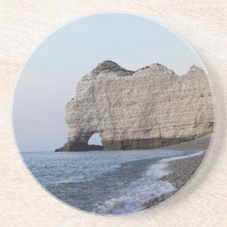 Dessous De Verre En Grès La côte aux falaises d'Aval d'Etretat
