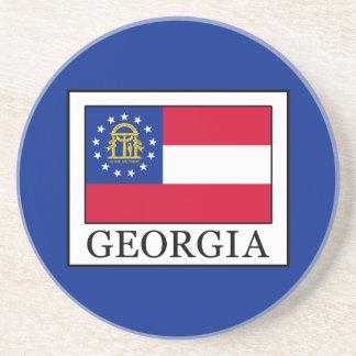 Dessous De Verre En Grès La Géorgie