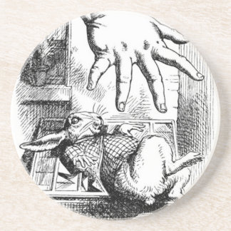 Dessous De Verre En Grès La grande main d'Alice