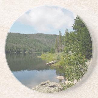 Dessous De Verre En Grès Lac monarch dans le Colorado