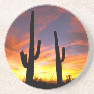 Dessous De Verre En Grès L'Amérique du Nord, Etats-Unis, Arizona, désert de