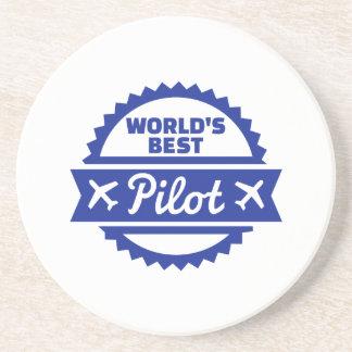 Dessous De Verre En Grès Le meilleur pilote du monde