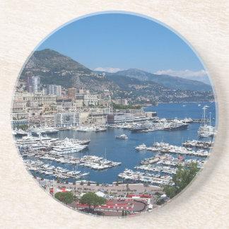 Dessous De Verre En Grès Le Monaco