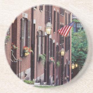 Dessous De Verre En Grès Les Etats-Unis, le Massachusetts, Boston, Chambres