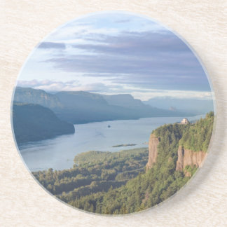 Dessous De Verre En Grès Les Etats-Unis, Orégon, gorge du fleuve Columbia,