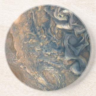 Dessous De Verre En Grès Les nuages de Jupiter