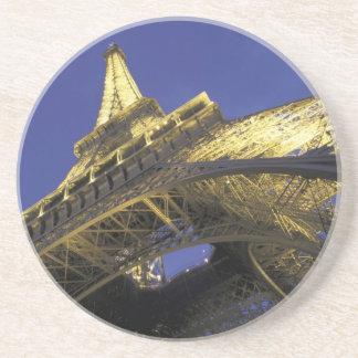 Dessous De Verre En Grès L'Europe, France, Paris, Tour Eiffel, égalisant 2