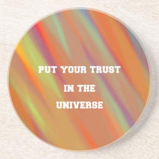 Dessous De Verre En Grès Mettez votre confiance dans l'univers