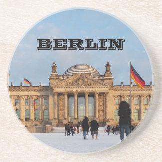 Dessous De Verre En Grès Milou Reichstag_001.02 (Reichstag im Schnee)
