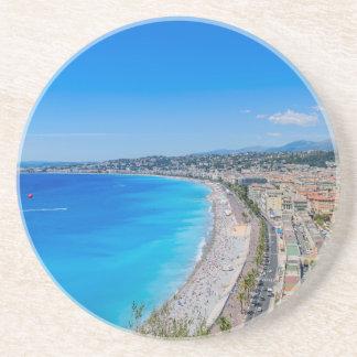 Dessous De Verre En Grès Nice du centre, France