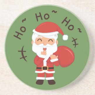 Dessous De Verre En Grès Noël père Noël